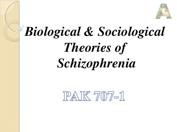 Biological & sociological
