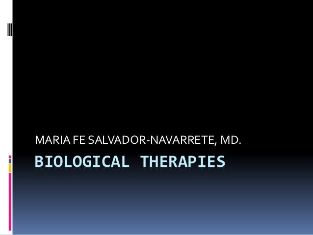 Biological therapies