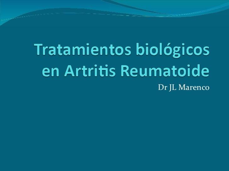 Dr JL Marenco