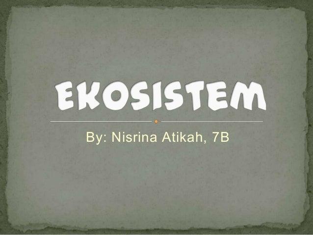 Biologi (ekosistem)