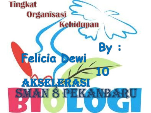 Tingkat Organisasi Kehidupan - Biologi