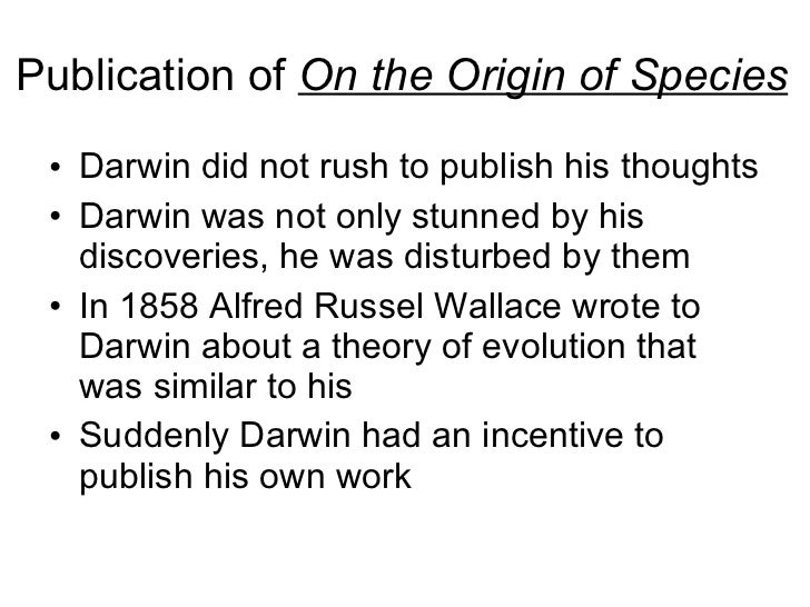 darwins theory of evolution essay Amnh online course evolution evolution is adarwins theory was widely hailed evolution is the theory that all essay on evolution vs.