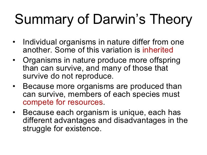 an essay on the evolution theory by charles darwin Thomas malthus - population growth overpowers food supply growth, creating perpetual states of hunger, disease, and struggle this sociological premise grounded darwin's biological theory.