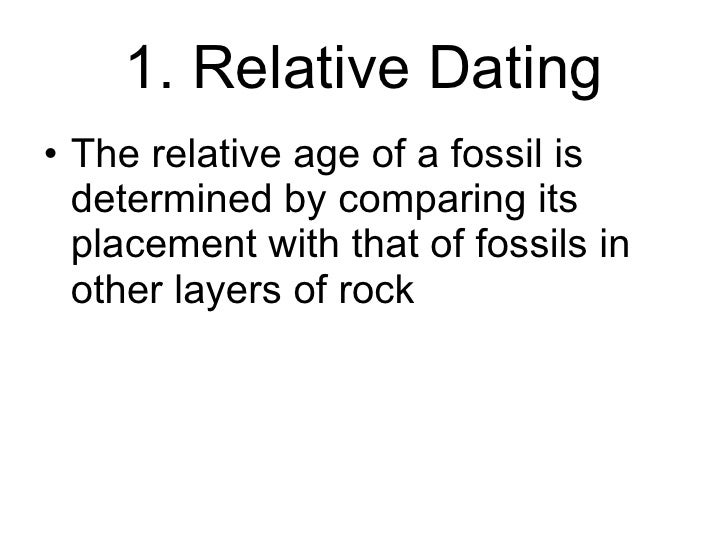 How does radioactive dating and relative dating help scientists