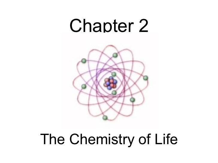 Chapter 2The Chemistry of Life