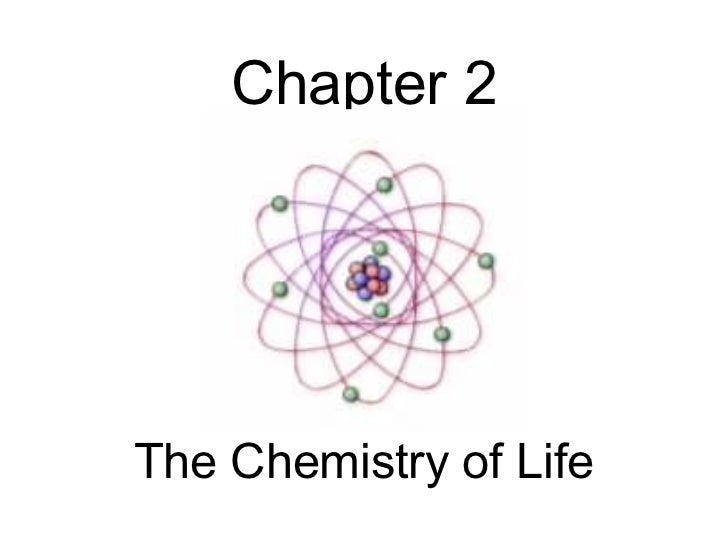 Biology - Chp 2 - The Chemistry Of Life - PowerPoint
