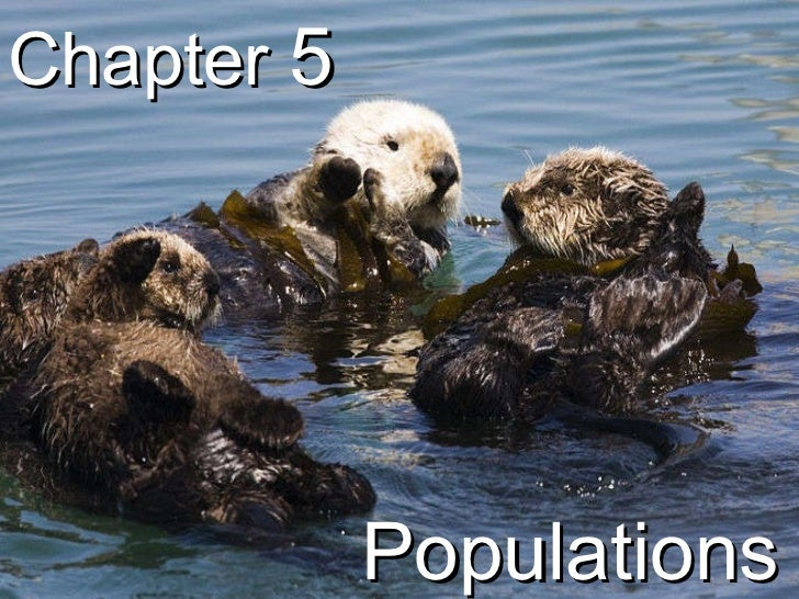 Biology - Chp 5 - Populations - PowerPoint