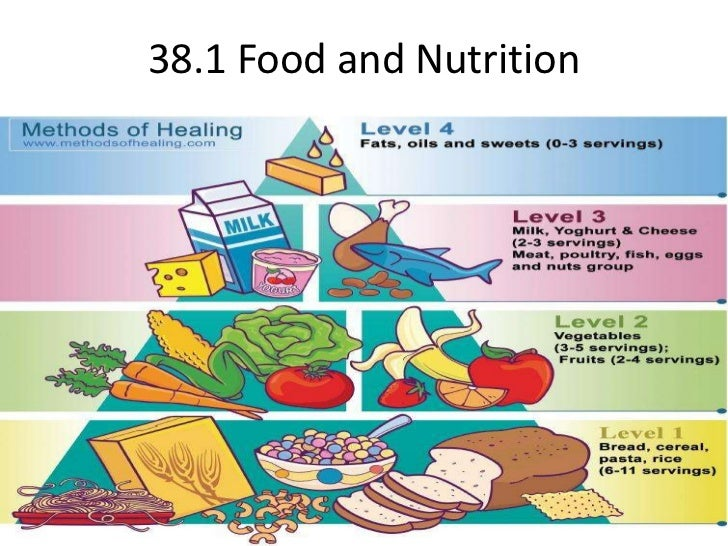 38.1 Food and Nutrition<br />