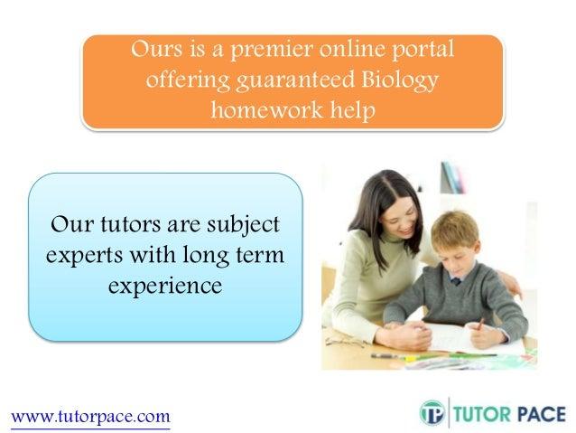 Biology homework help