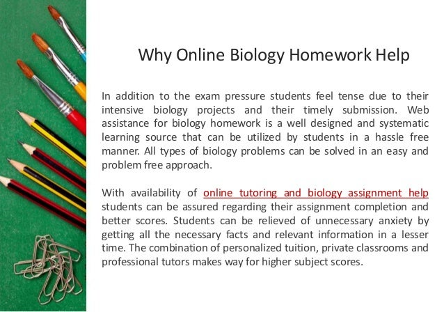 biology papers online