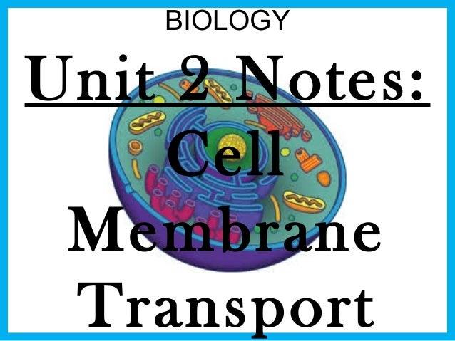 biology unit 2