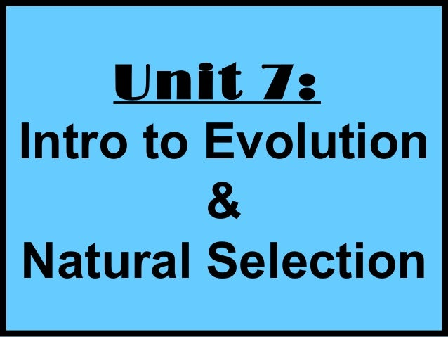 evolution research papers