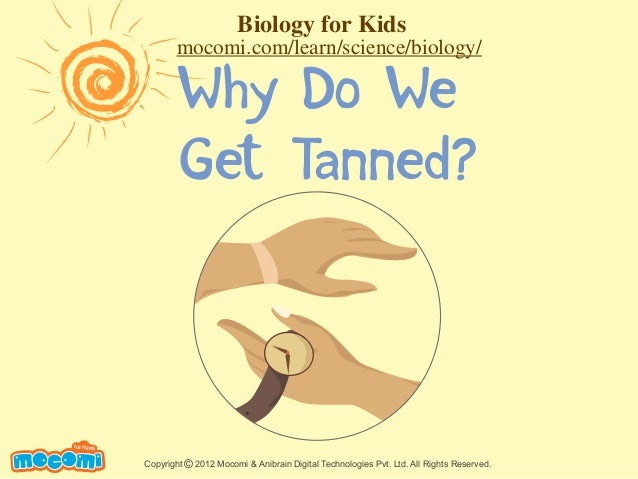 Why Do We Get Tanned? UNF FOR ME! Copyright 2012 Mocomi & Anibrain Digital Technologies Pvt. Ltd. All Rights Reserved.© Bi...