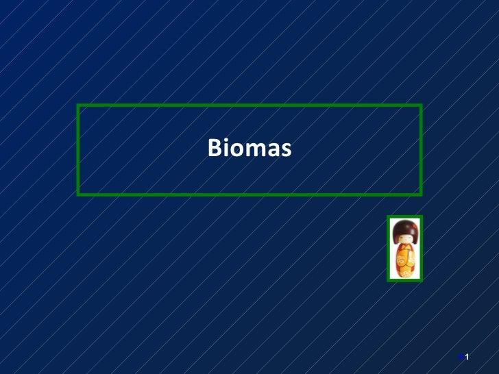 <ul><li>Biomas </li></ul><ul><li></li></ul>