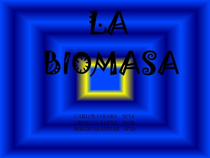 LABIOMASA CARLOS JARABA Nº14 CRISTIAN LOPEZ Nº18 SERGIO MANDAR Nº18