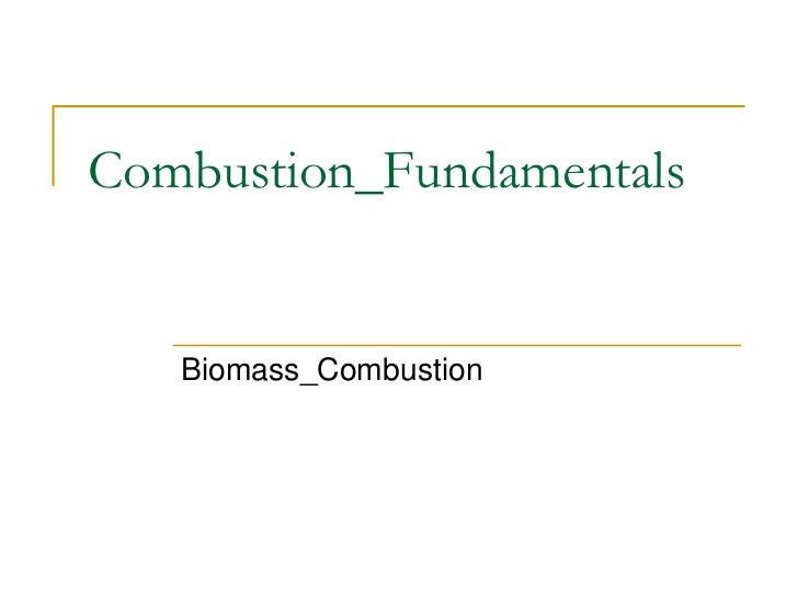 Combustion_Fundamentals   Biomass_Combustion