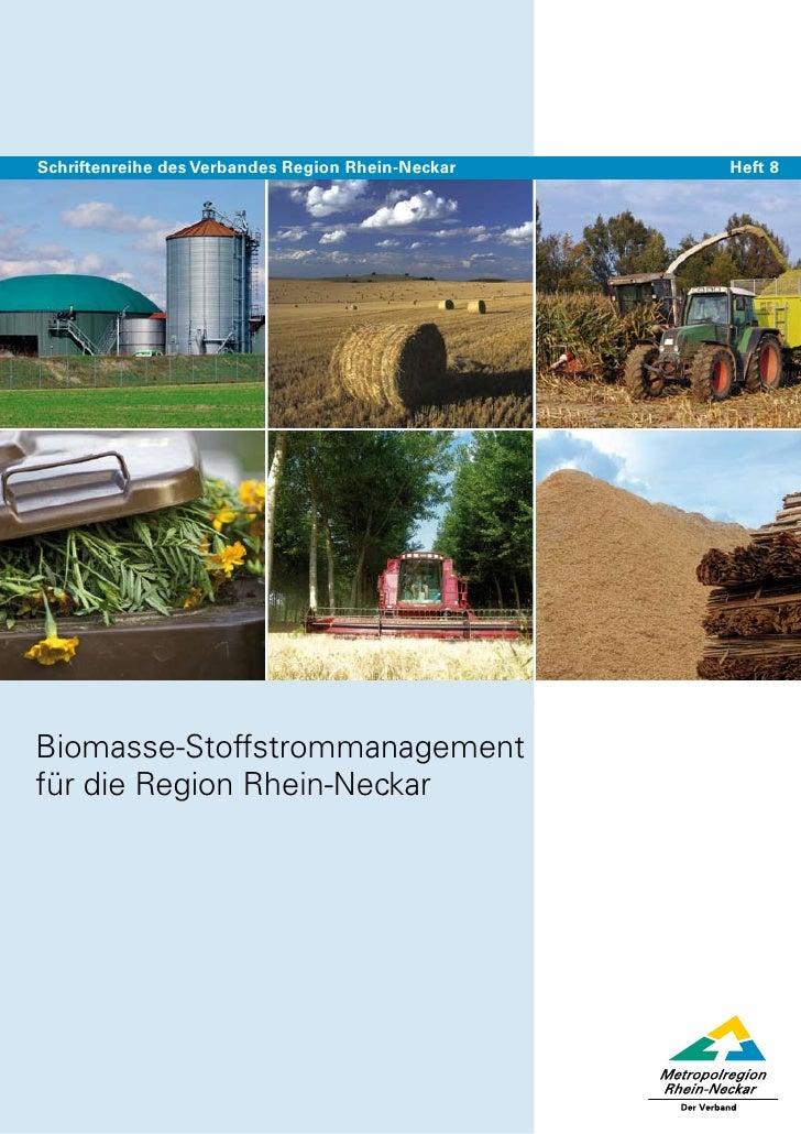 Biomasse stoffstrommanagement, endfassung