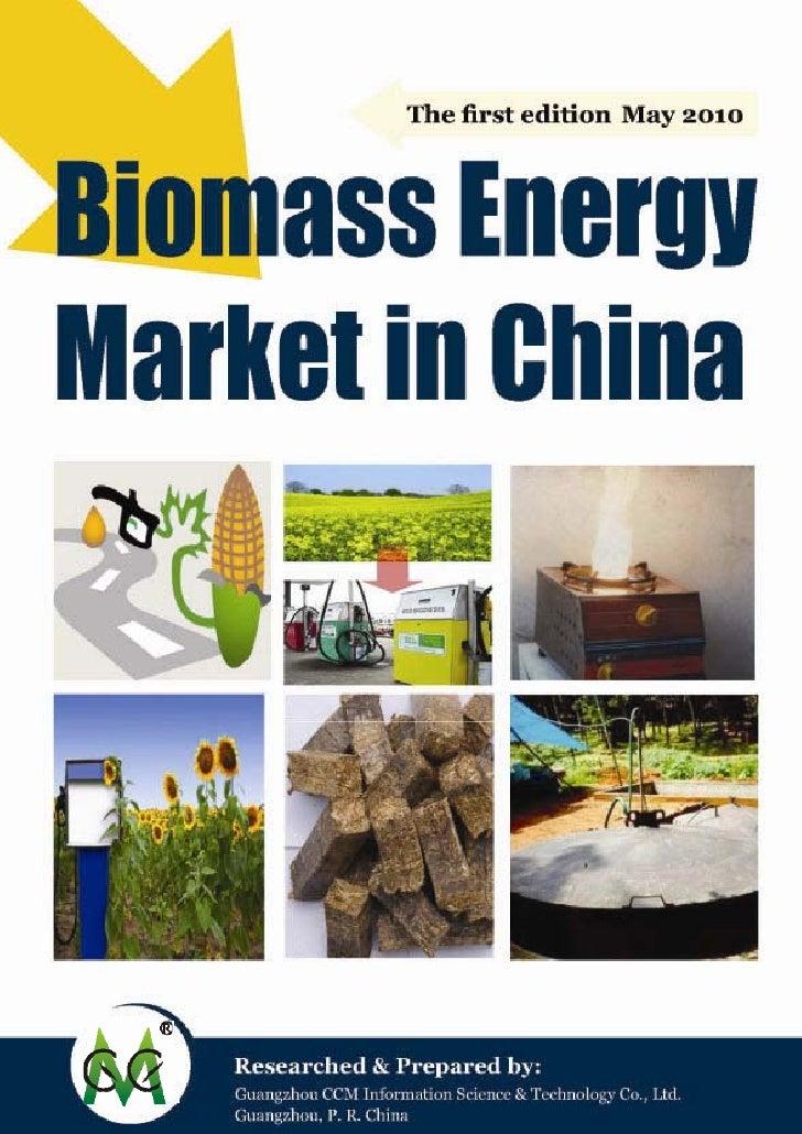 Biomass energy market in china