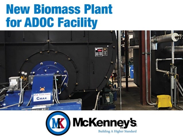 New Biomass Plant for Alabama Department of Corrections (ADOC) Facility