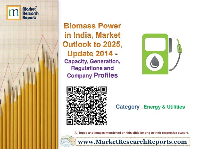 Biomass Power in India, Market Outlook to 2025, Update 2014 - Capacity, Generation, Regulations and Company Profiles