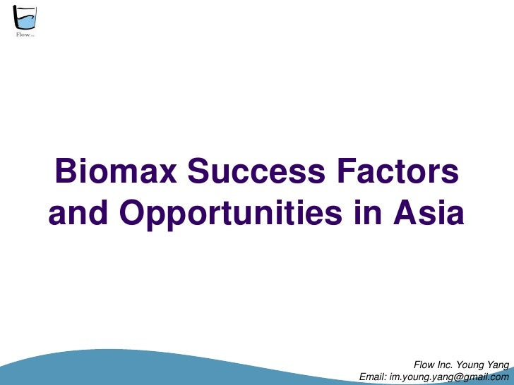Biomass Success Factors And Opportunities In Asia