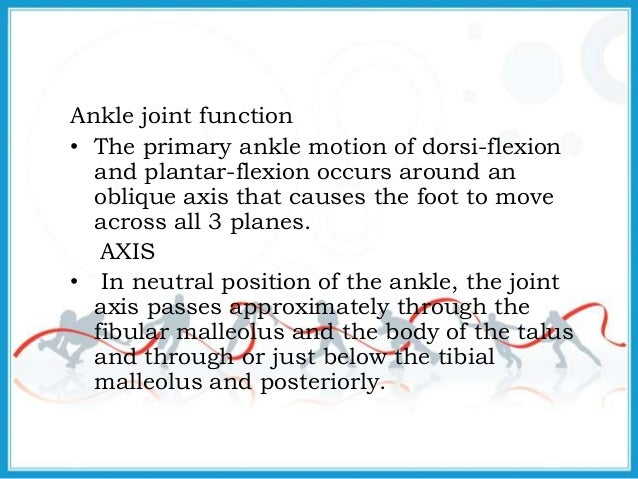biomechanics of ankle joint pdf