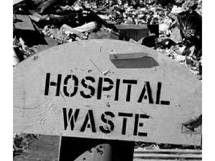 Biomedical waste disposal