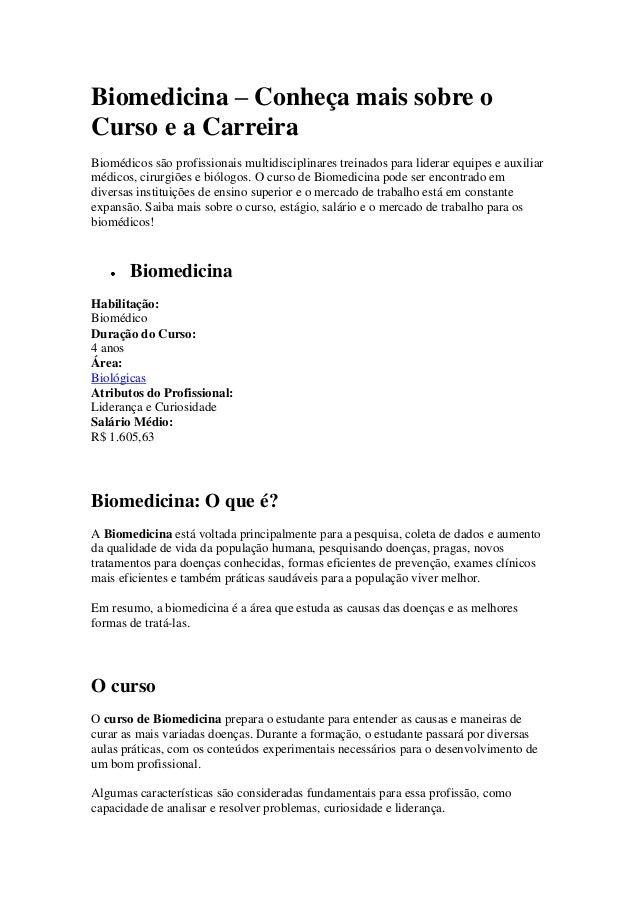 Biomedicina – Conheça mais sobre oCurso e a CarreiraBiomédicos são profissionais multidisciplinares treinados para liderar...