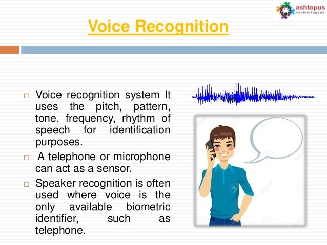 voice recognition conclusion The 10 best speech recognition software speech or voice recognition software help users to convert their oral conclusion: voice recognition software eases.