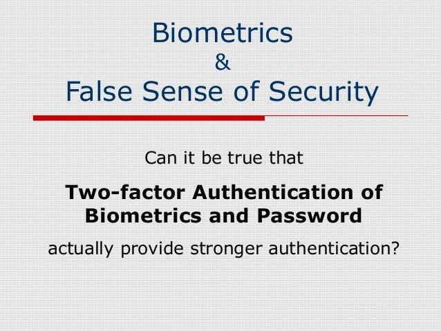 false sense of security in relationships