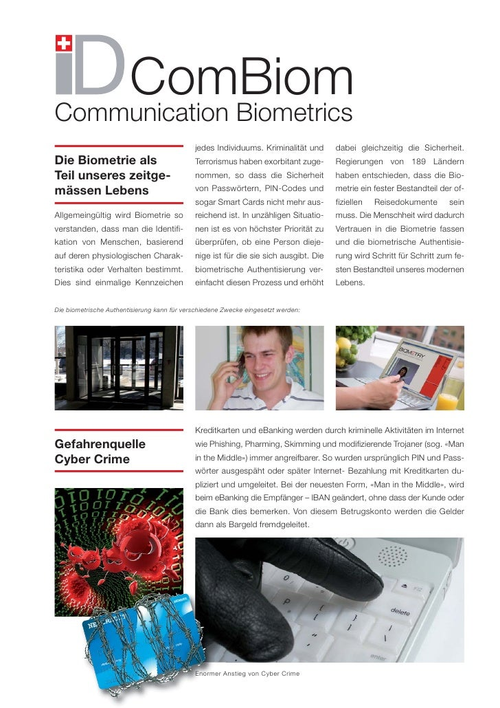 Biometry ComBiom - Deutsch