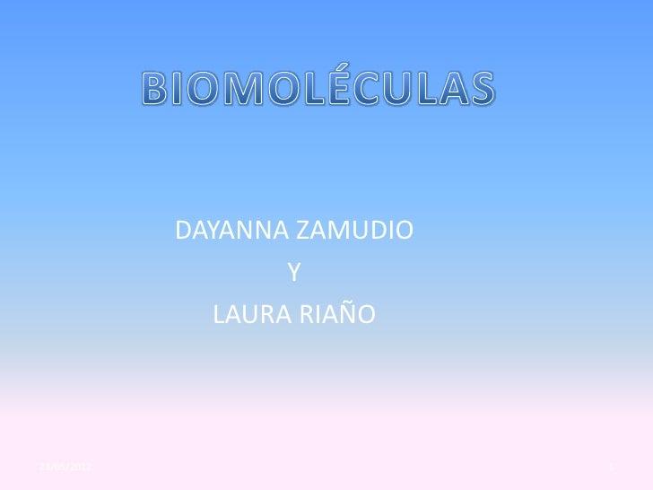 DAYANNA ZAMUDIO                    Y               LAURA RIAÑO23/05/2012                     1