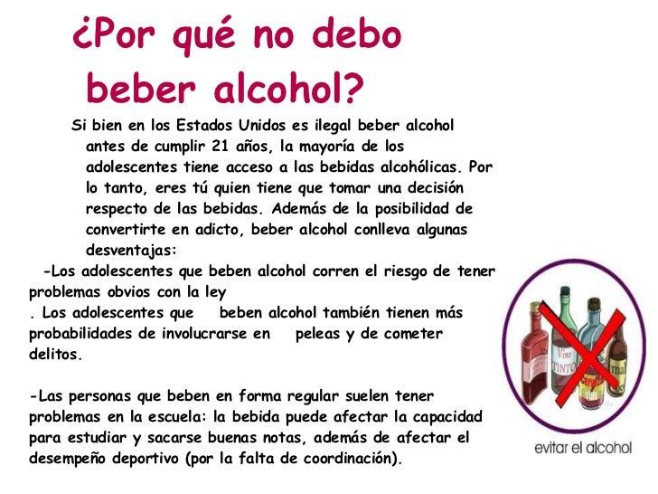 El alcoholismo los pinchazos sin receta