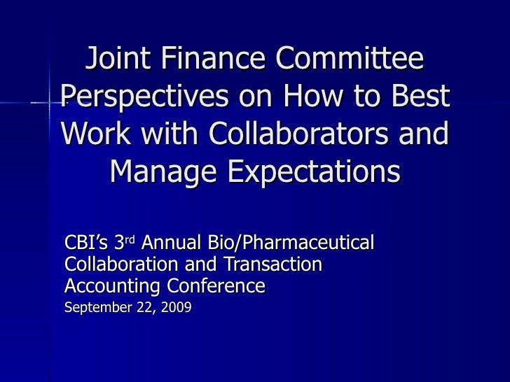Bio Pharm Collaborations 9 09
