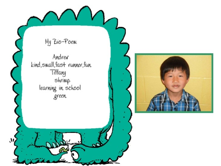 Bio Poems by Mrs. Clarke's Gr 2 Students