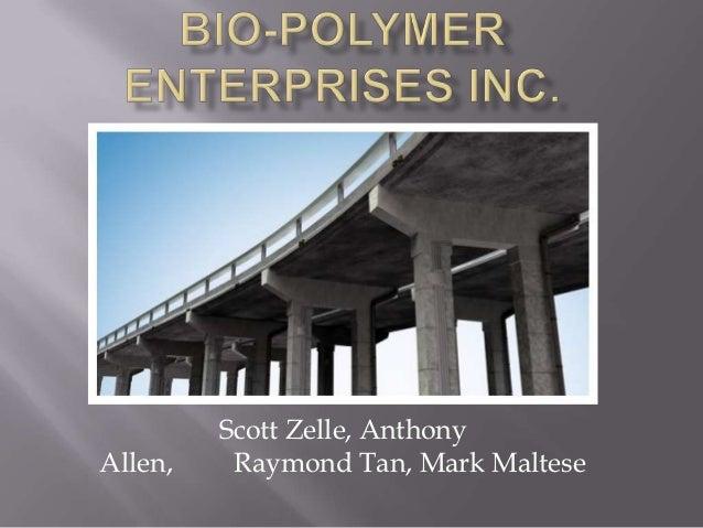 Bio polymer enterprises inc.