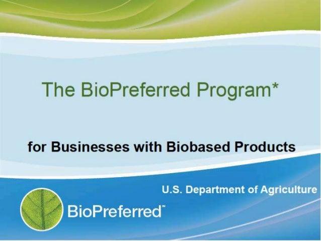 Bio Preferred for Business