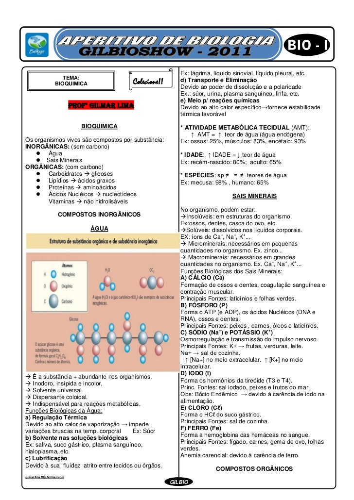 Ex: lágrima, líquido sinovial, líquido pleural, etc.                     TEMA:                                  d) Transpo...