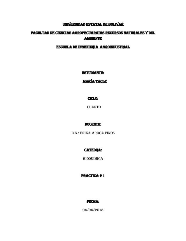 caracterización de proteínas