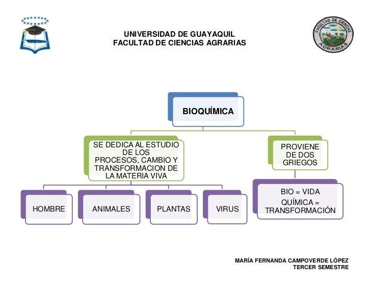 UNIVERSIDAD DE GUAYAQUIL             FACULTAD DE CIENCIAS AGRARIAS                                BIOQUÍMICA         SE DE...