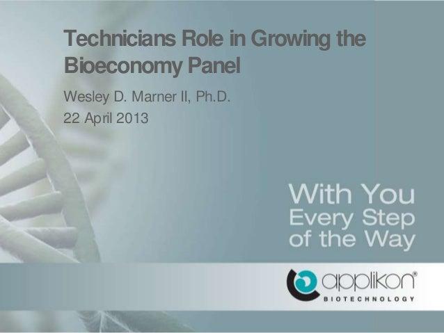 Bioreactor education & training w.marner ccp13