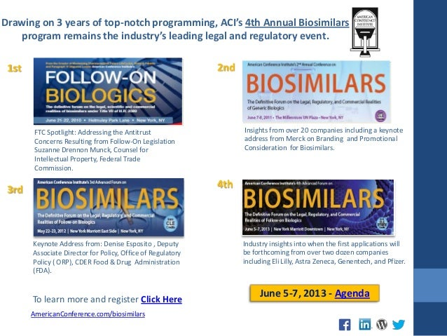 ACI's 4th Annual Biosimilars Forum