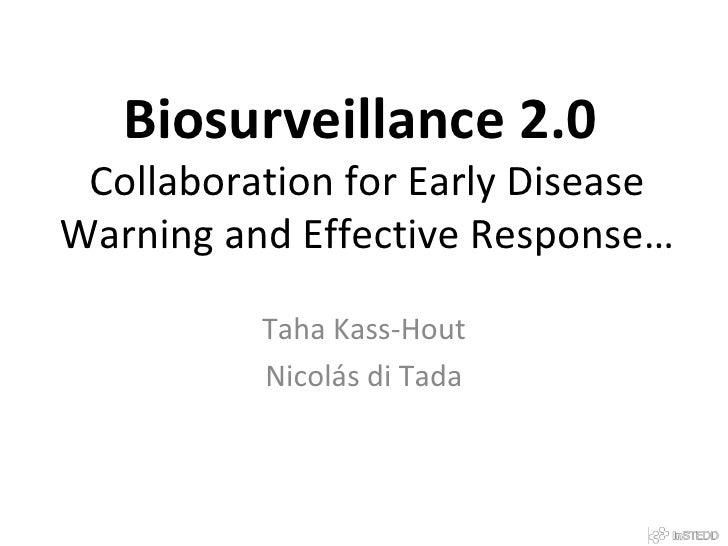 Biosurveillance 2.0