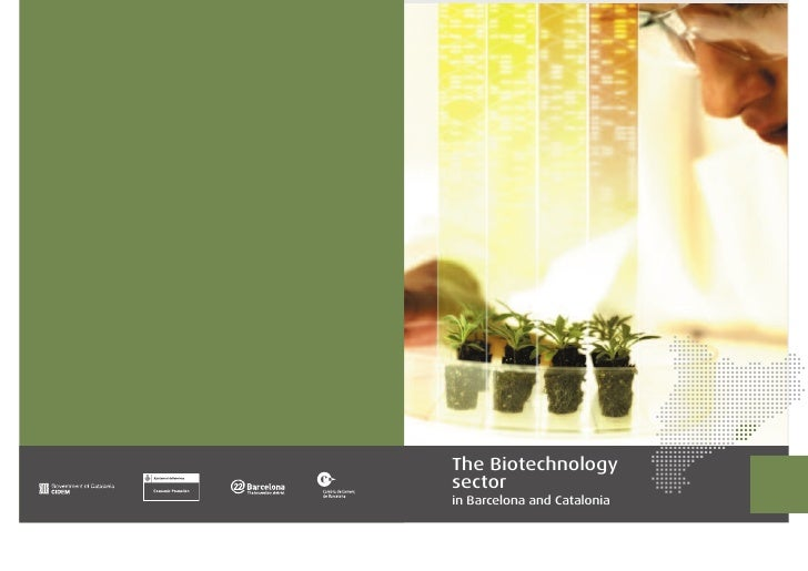 The Biotechnology sector in Barcelona and Catalonia