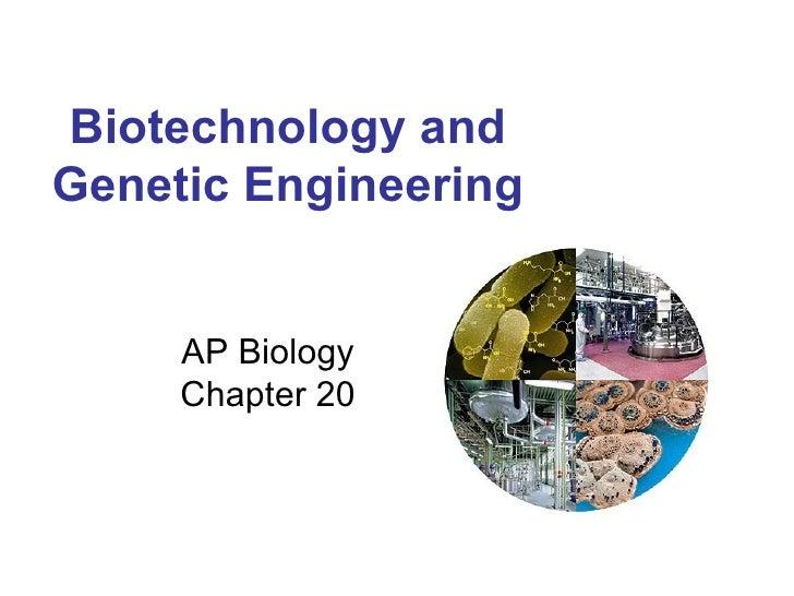 Biotechnology Ap