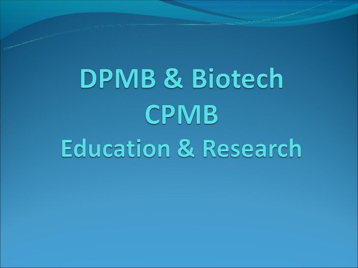 Biotech research at  tamil nadu agricultural university 2011
