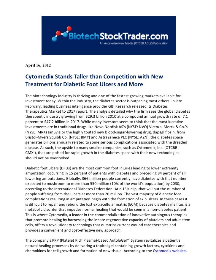 Biotech stock trader april 2012