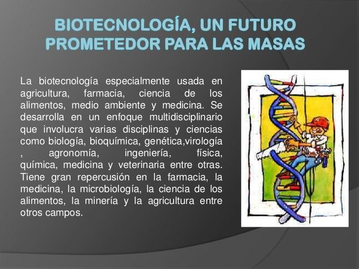 Resultado de imagen de El futuro biotecnológico