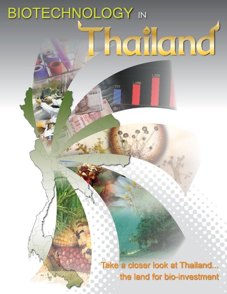 Biotecnology in Thailand