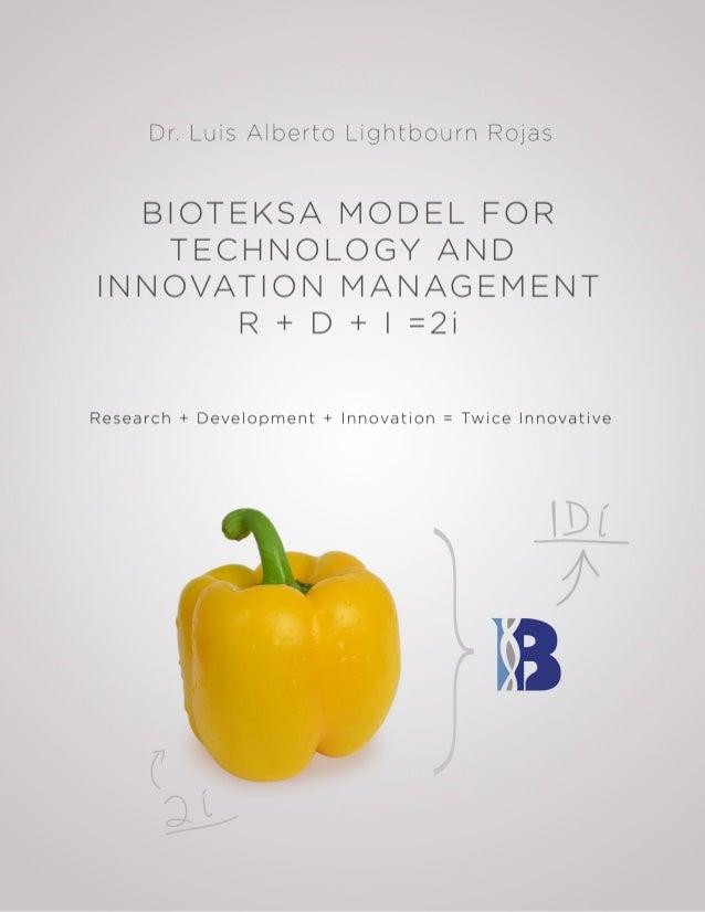 Bioteksa Model For Technology And Innovation Management